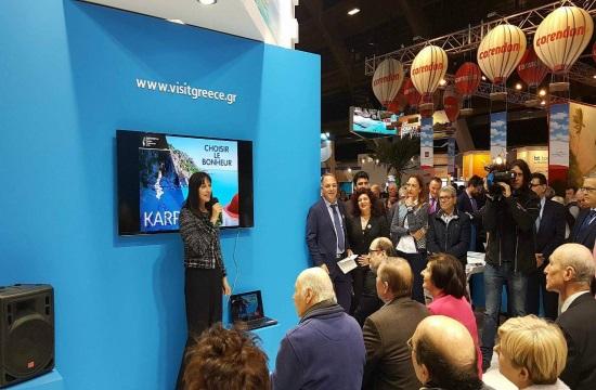 Karpathos: Honored destination at Salon des Vacances 2018 in Belgium