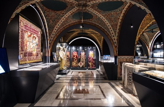 Metropolitan Cathedral of Athens unveils its museum with relics collection