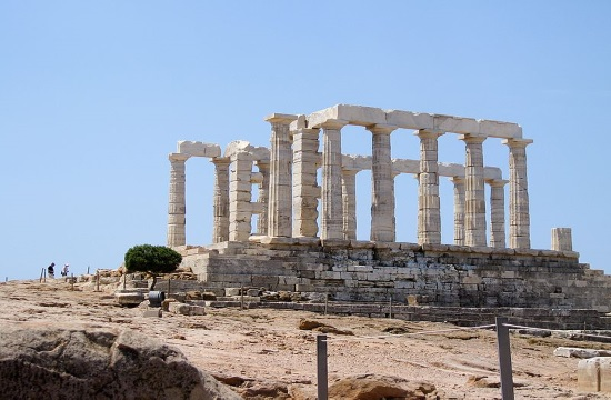 "BBC filming for ""The Little Drummer Girl"" wraps up at Sounion temple near Athens"
