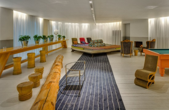 Greek eco-luxury hotel promotes travelling in style with children
