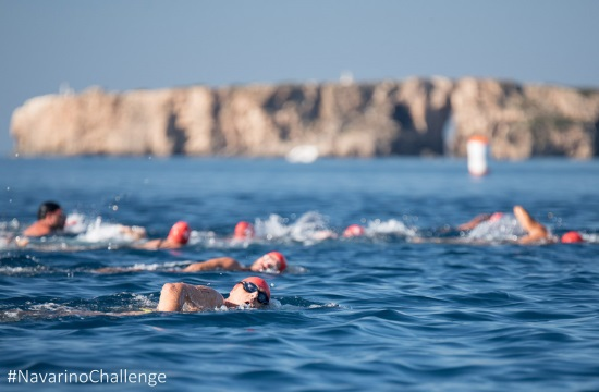 Sports Tourism: Two great Greek athletes partner with Navarino challenge