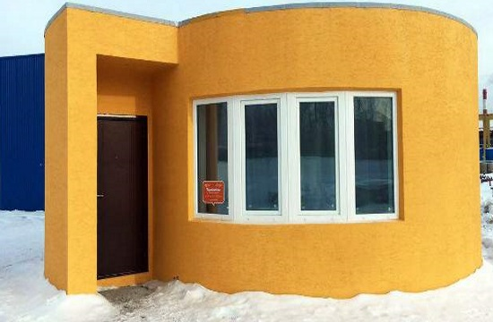 Robot prints a $32,000 house in less than a day (video)