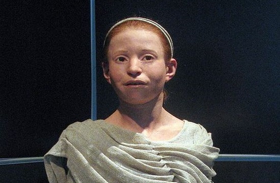 Neolithic girl's reconstructed face unveiled at Athens Acropolis Museum on January 19th