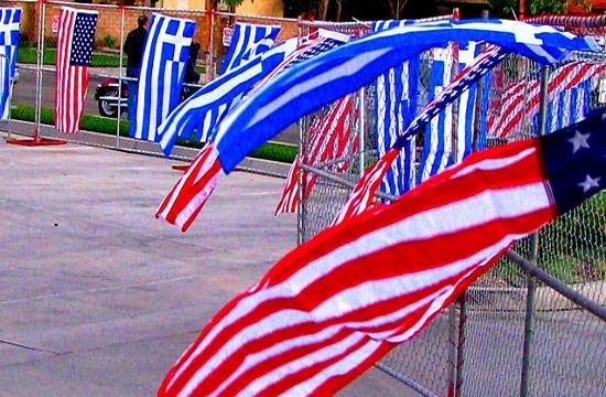 US Ambassador marks the Greek 'gift' of democracy on Independence Day