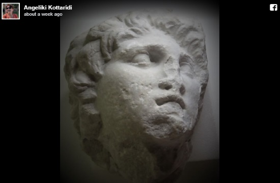 Forgotten sculpture of Alexander the Great located in Greek museum's storage