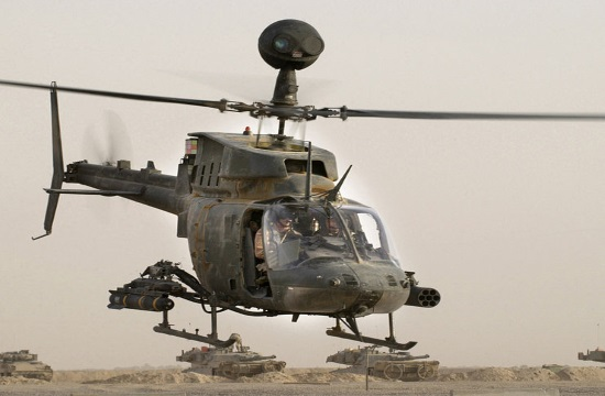 Hellenic Army to acquire OH-58D Kiowa Warrior helicopters from the US