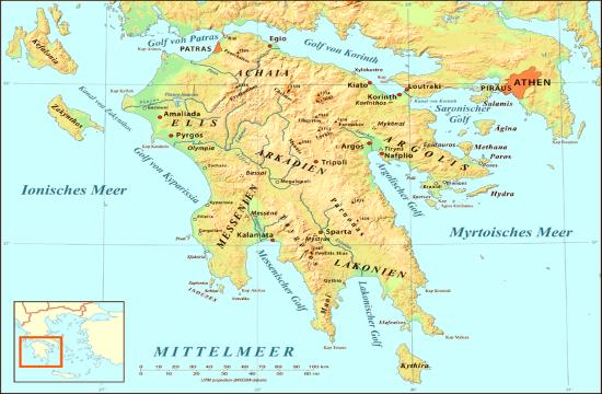 Forest fires break out in western Peloponnese region of Greece