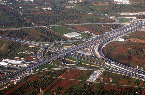 Tolls to rise on Athens highway of Attiki Odos on July 1 and January 1
