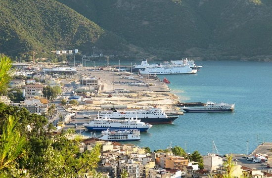 Passenger traffic in Greek ports fell 15.8% in Q1