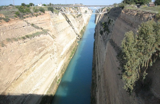 Greek PM visits Corinth Canal to be briefed on the restoration plan