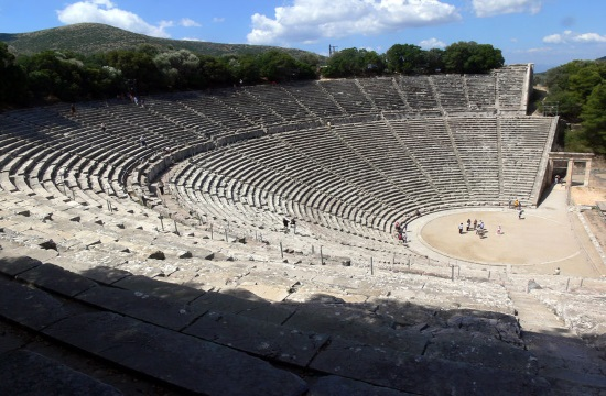 """Bacchae"" take the stage at Epidaurus Ancient Theater in Peloponnese"