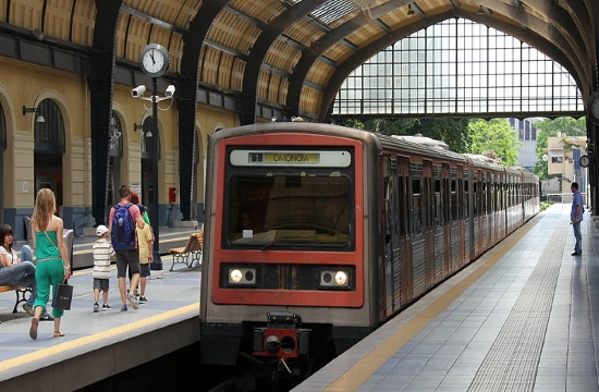 Train services suspended in August return to normal in Greece on Monday