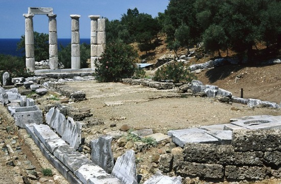 Rich finds by excavation at Ancient Greek Sanctuary of Great Gods on Samothrace island