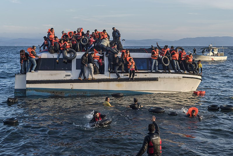 One hundred and one recognised refugees left Greece for Germany