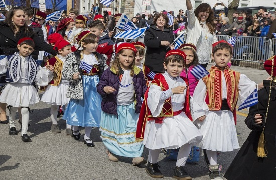 Greek Independence Day Parade to be held in New York on April 14