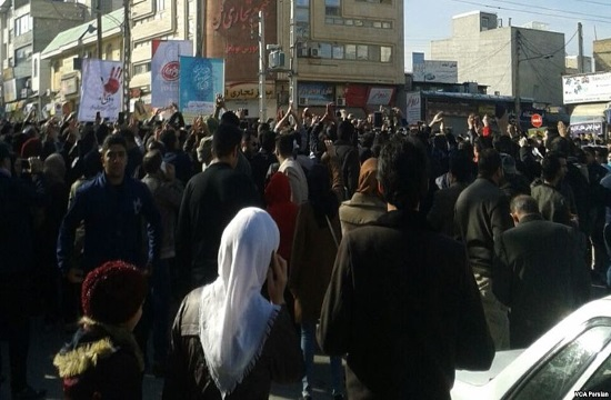 At least 12 people killed in Iran during anti-government protests