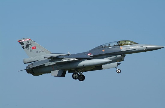 Turkish aircraft violate Greek airspace 33 times triggering two dogfights