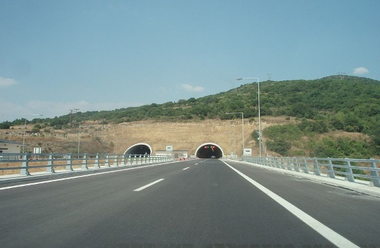 The largest road projects in the revised NSRF 2014 - 2020 program for Greece