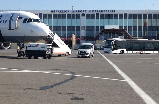 Heraklion airport in Crete to stay closed until 16:30 on Wednesday