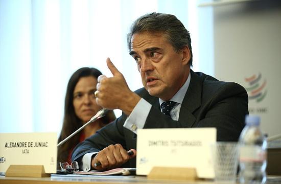 International Air Transport Association's Director General will step down