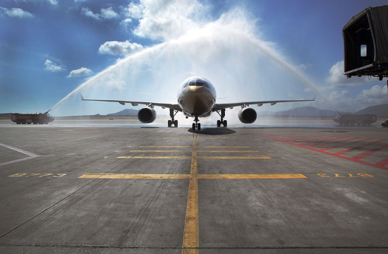 Passenger traffic soars at Athens International Airport