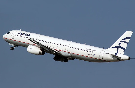 Aegean Airlines turnover up by 12% during H1 2017