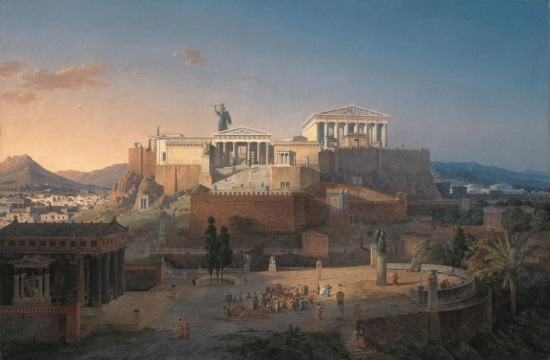 Animation by Expedia restores Ancient Greek Parthenon in Athens Acropolis