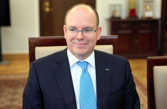 Prince Albert II of Monaco visits Corfu island in Greece for a brief holiday