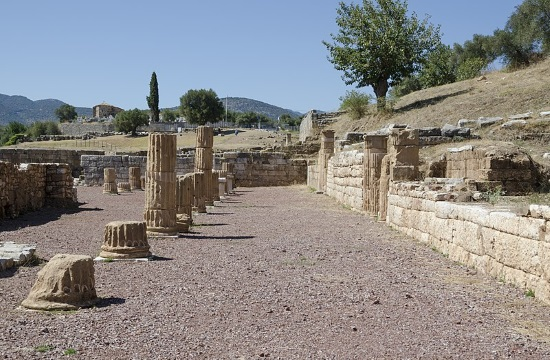 German President visits the ancient site of Messene in Greece