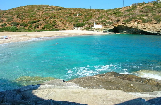 Fans of Instagram highlight beauty of Greek island of Andros