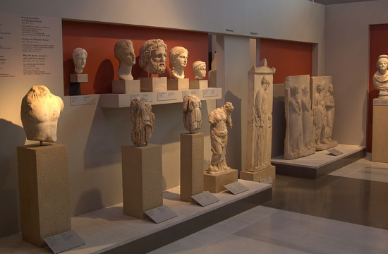 "Archaeological Museum of Thessaloniki hosts Pryor's ""Greek Body Overlays"""