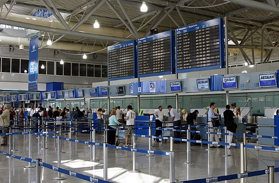 Air flights in Greek airports soar by 5.7% during 2016