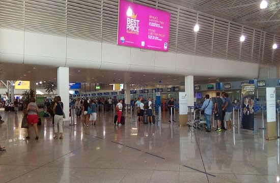 Passenger traffic in Greek airports grows 5.4% in January 2020