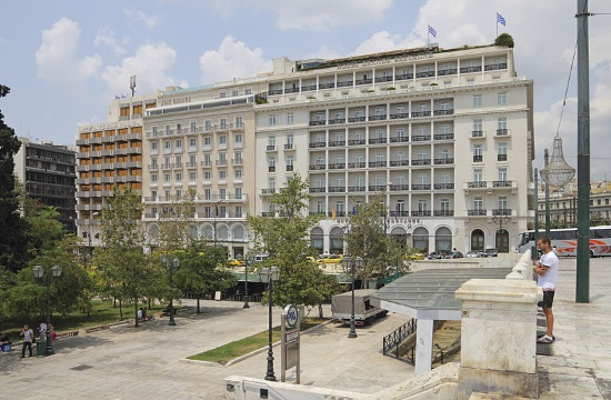 Occupancy rates at Athens' hotels drop due to COVID-19