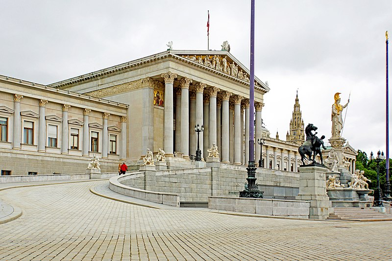 History Tourism report: The Austrian Parliament and its unique Greek character