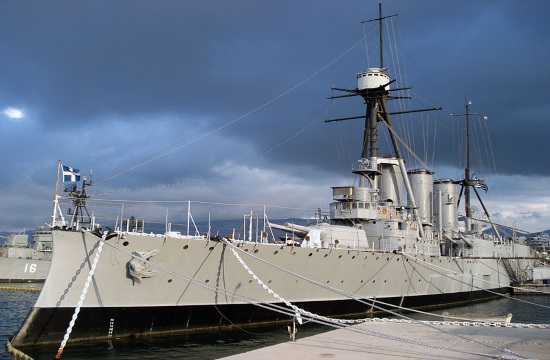 Historic battleship 'Averoff' to remain in Thessaloniki port until December