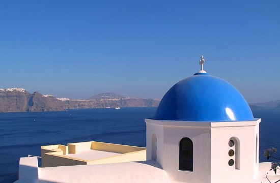 Woman marries herself in Greek island of Santorini after fiance dumps her