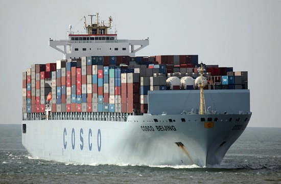 Cosco-controlled Greek port of Piraeus announces higher turnover and profits