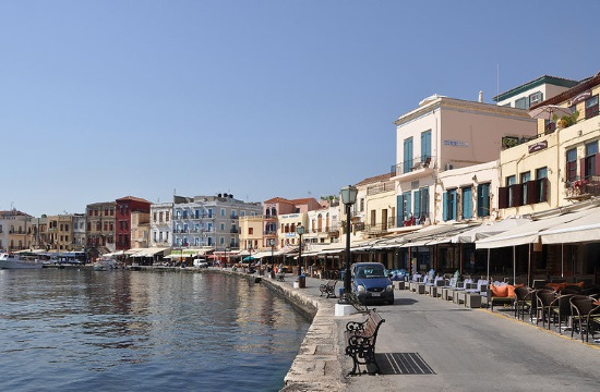 Cars banned at Old Venetian Port of Chania in Crete as of April 23