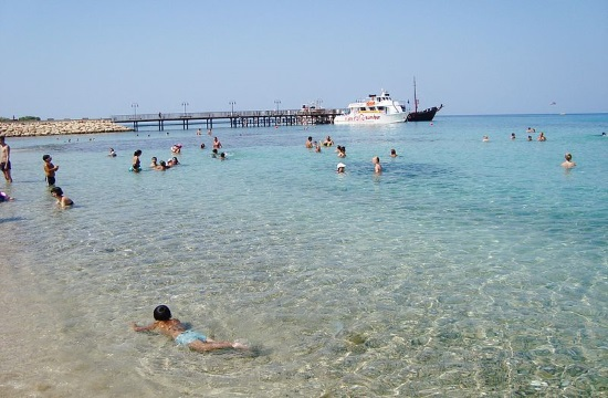 2,1% rise in Cyprus tourist arrivals during July 2019