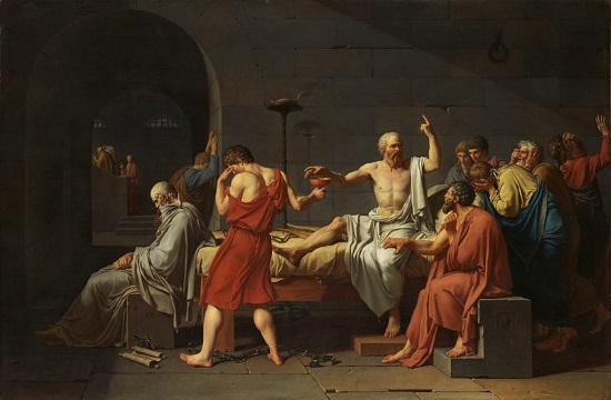 Ancient Greek philosopher Socrates founding figure of Western philosophy