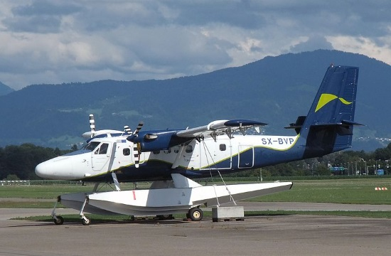 First seaplane test flights in Greece successfully run on Corfu island