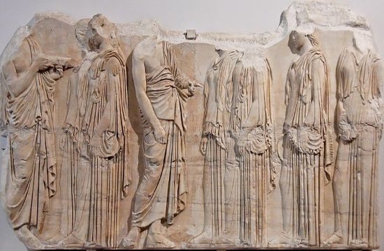 Athens Parthenon Metope in the Louvre on show in Greece in 2021