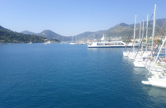 Yacht owner on Greek island of Lefkada rents it as a luxury home