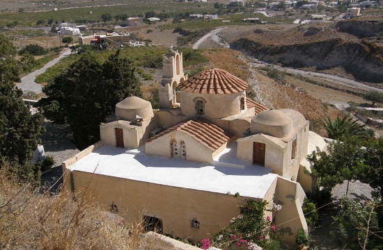 Religious Tourism: Panagia Episkopi, the oldest church on Santorini island