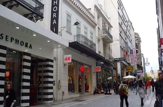 The rebirth of Ermou street in Athens as a central shopping attraction