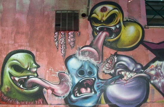 Athens anti-tagging initiative cleans city and issues open call for artists