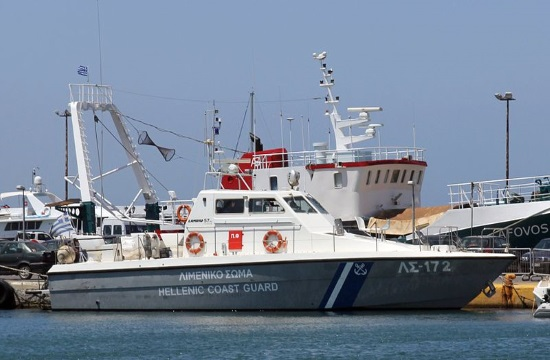 Tons of cannabis confiscated on vessel south of Crete island (video)