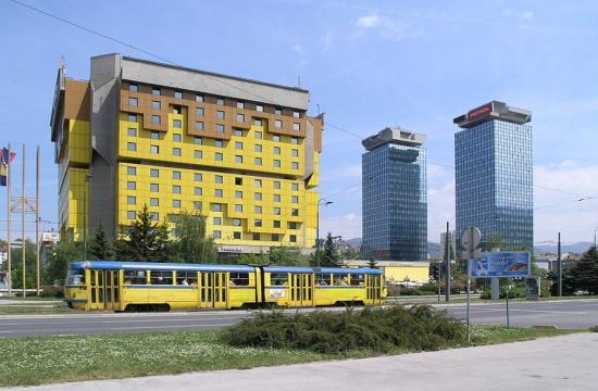 AP: Sarajevo's landmark hotel faces hard times amid Covid-19 pandemic