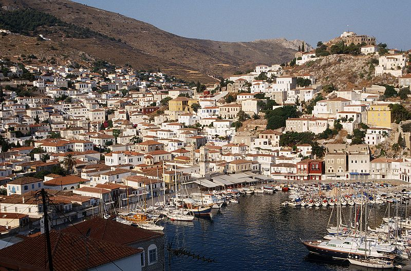 Greek island of Hydra featured in the Wall Street Journal
